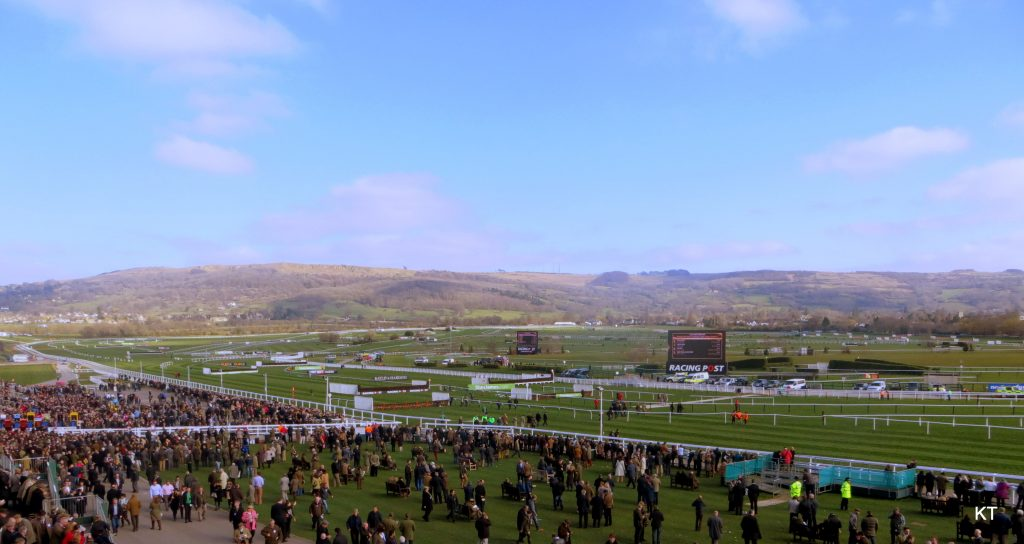 Cheltenham Racecourse, the Home Of Jumps Racing, in Cheltenham Spa, Gloucestershire, England