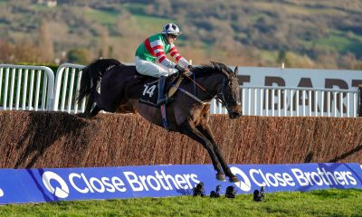 Chatham Street Lad wins the Caspian Caviar Gold Cup at Cheltenham Racecourse in December 2020 at the International Meeting