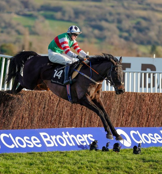Chatham Street Lad wins the Caspian Caviar Gold Cup at Cheltenham Racecourse in December 2020