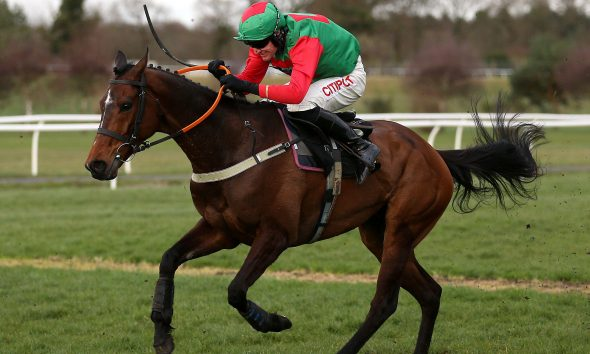 Crossley Tender winning at Market Rasen Racecourse