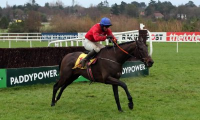 A Plus Tard ridden by Darragh O'Keeffe on their way to winning the Savills Chase during the Leopardstown Christmas Festival at Leopardstown Racecourse, Dublin.