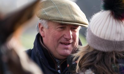 Horse trainer Paul Nicholls at Hereford Racecourse Supreme
