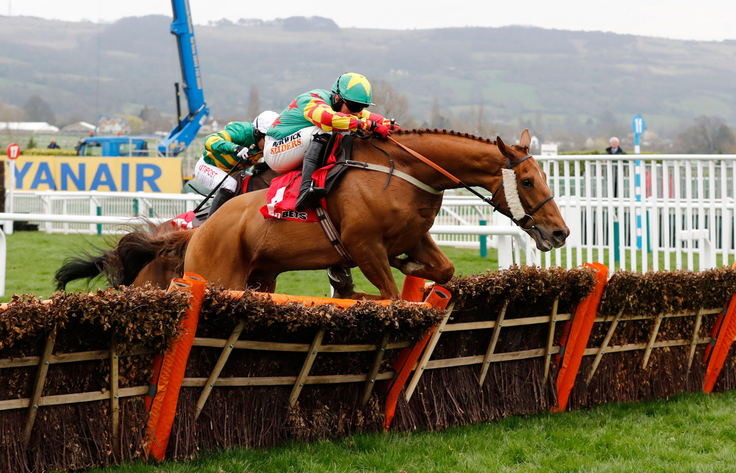 Britain Horse Racing - Cheltenham Festival - Cheltenham Racecourse - 16/3/17 Lil Rockerfeller ridden by Trevor Whelan during the 3:30 Sun Bets Stayers? Hurdle Reuters / Stefan Wermuth Livepic EDITORIAL USE ONLY.